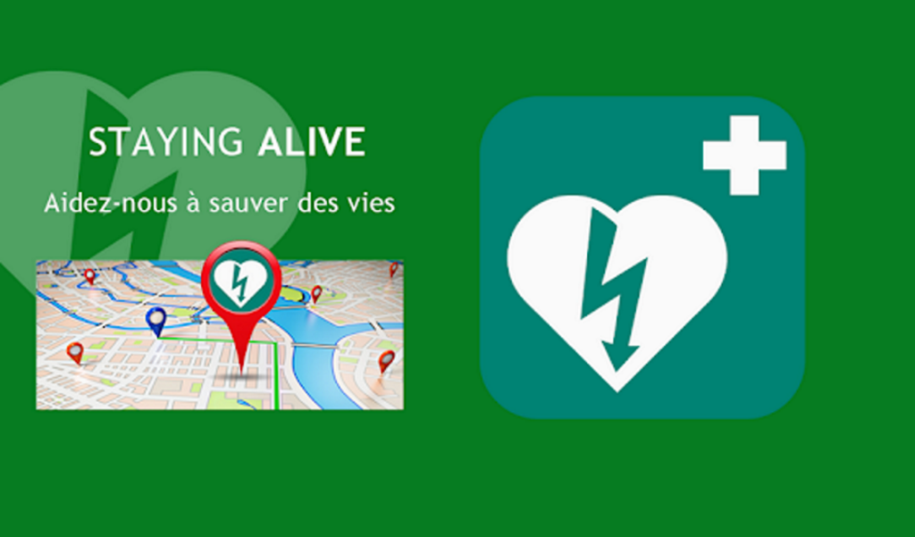 Affiche application Staying Alive