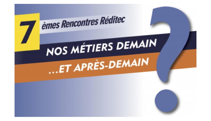 Affiche 7emes rencontres de Reditec