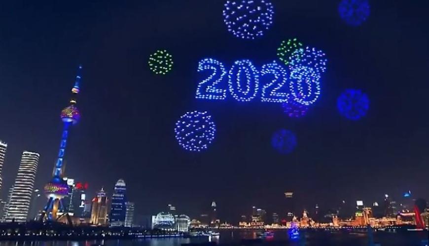 Nouvelle année drones