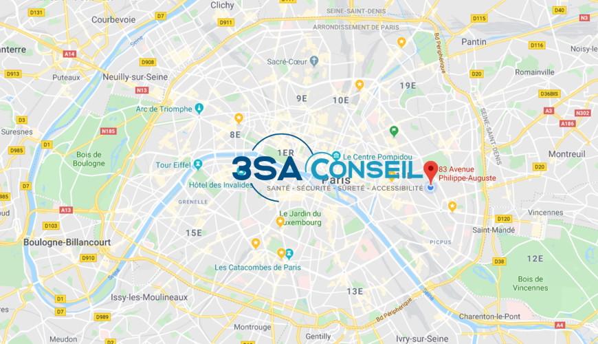 Plan adresse 3SA CONSEIL