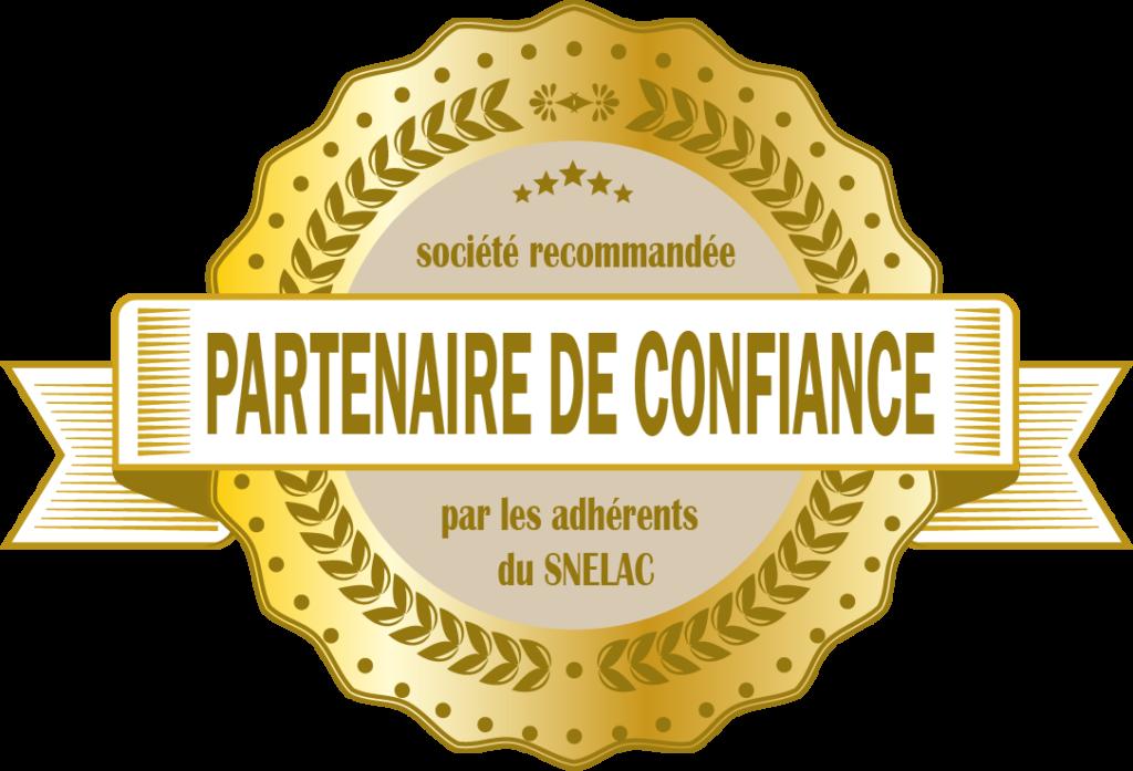 Logo partenaire de confiance SNELAC